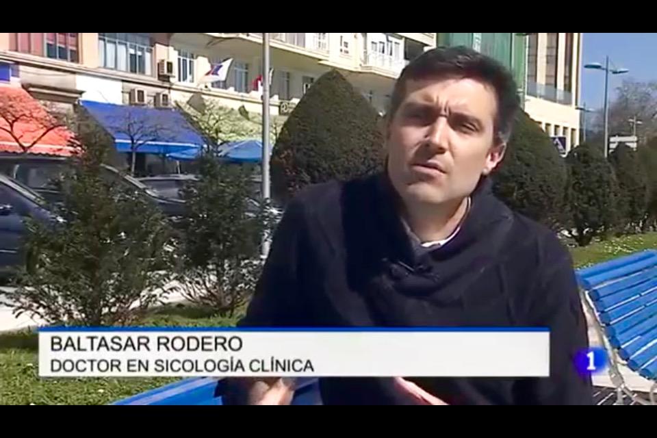 Baltasar Rodero, Doctor en Psicología Clínica. TVE 1. 2016