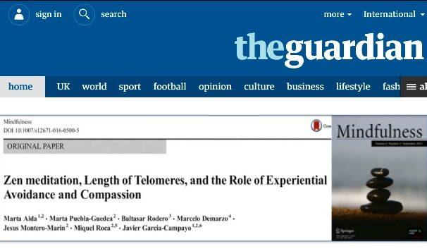 Baltasar Rodero, Psicólogo en Santander, en el periodico británico