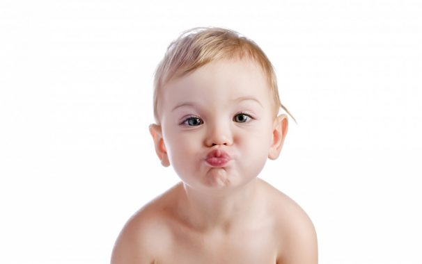 Es bueno besar a tus hijos