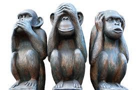 ¿Que significan los tres monos de Whats App?
