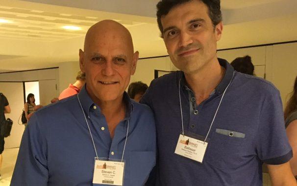 Baltasar Rodero y Steven Hayes Congreso Mundial ACBS